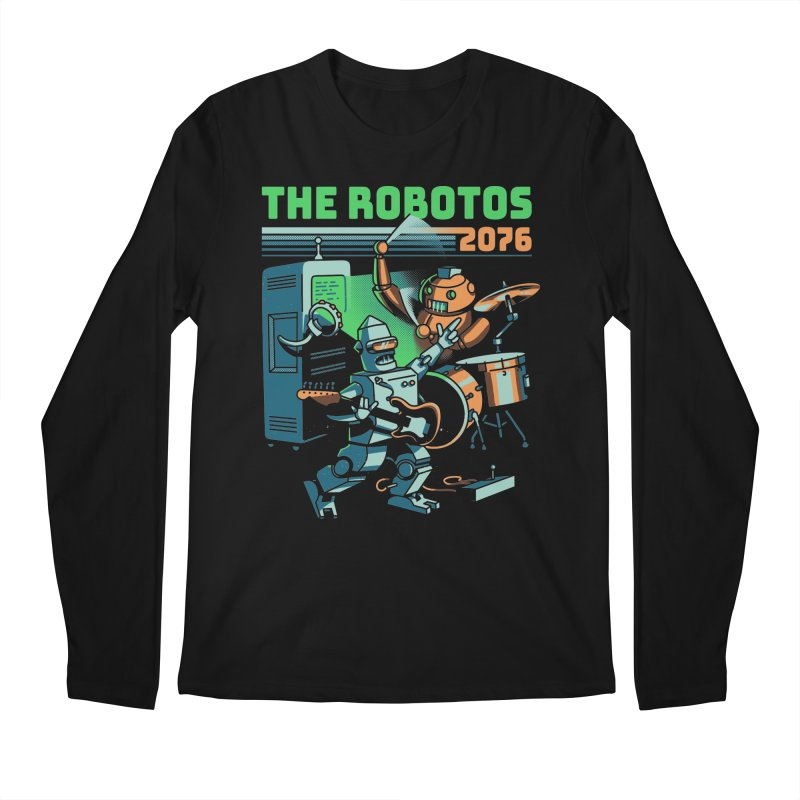 The Robotos Men's Longsleeve T-Shirt by Santiago Sarquis's Artist Shop