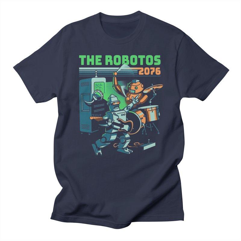 The Robotos Men's Regular T-Shirt by Santiago Sarquis's Artist Shop