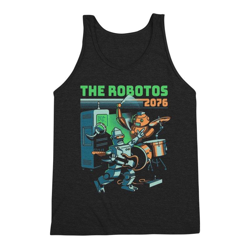 The Robotos Men's Triblend Tank by Santiago Sarquis's Artist Shop