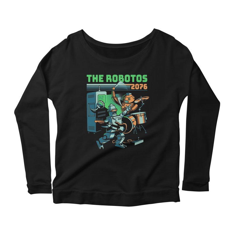 The Robotos Women's Longsleeve T-Shirt by Santiago Sarquis's Artist Shop