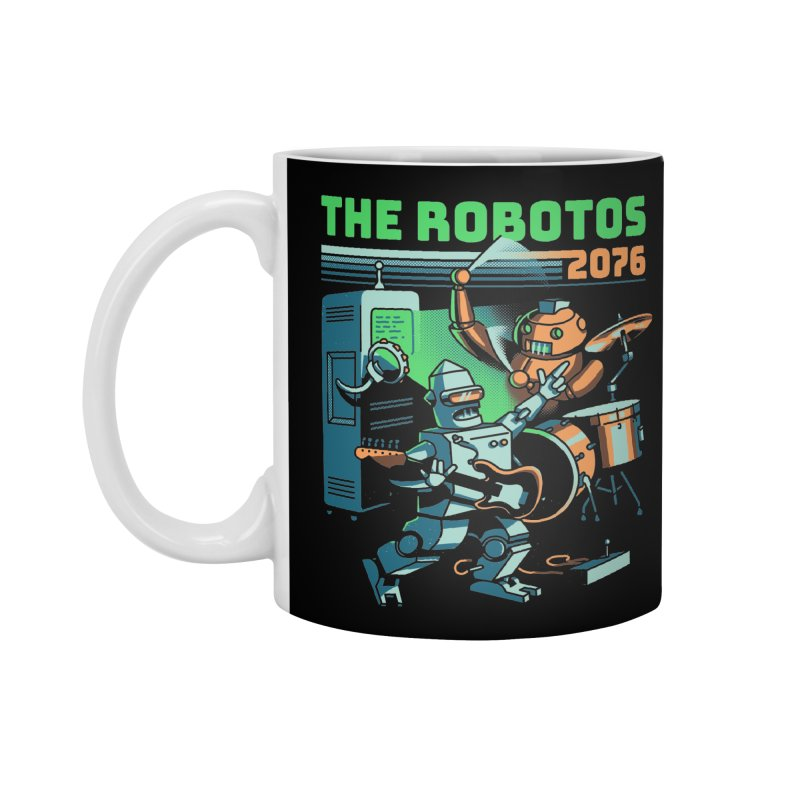 The Robotos Accessories Mug by Santiago Sarquis's Artist Shop