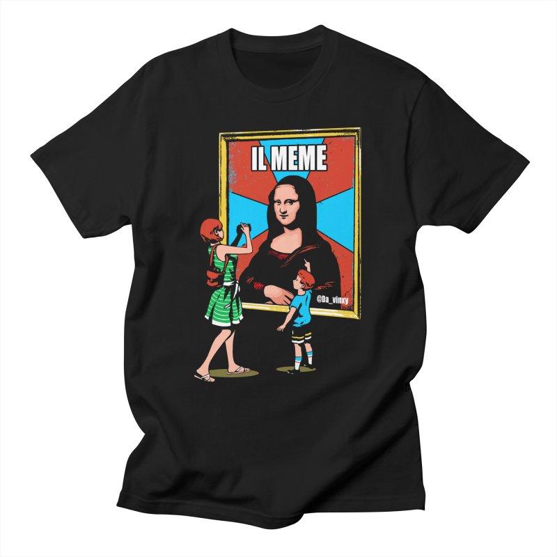 Il Meme Men's T-Shirt by Santiago Sarquis's Artist Shop