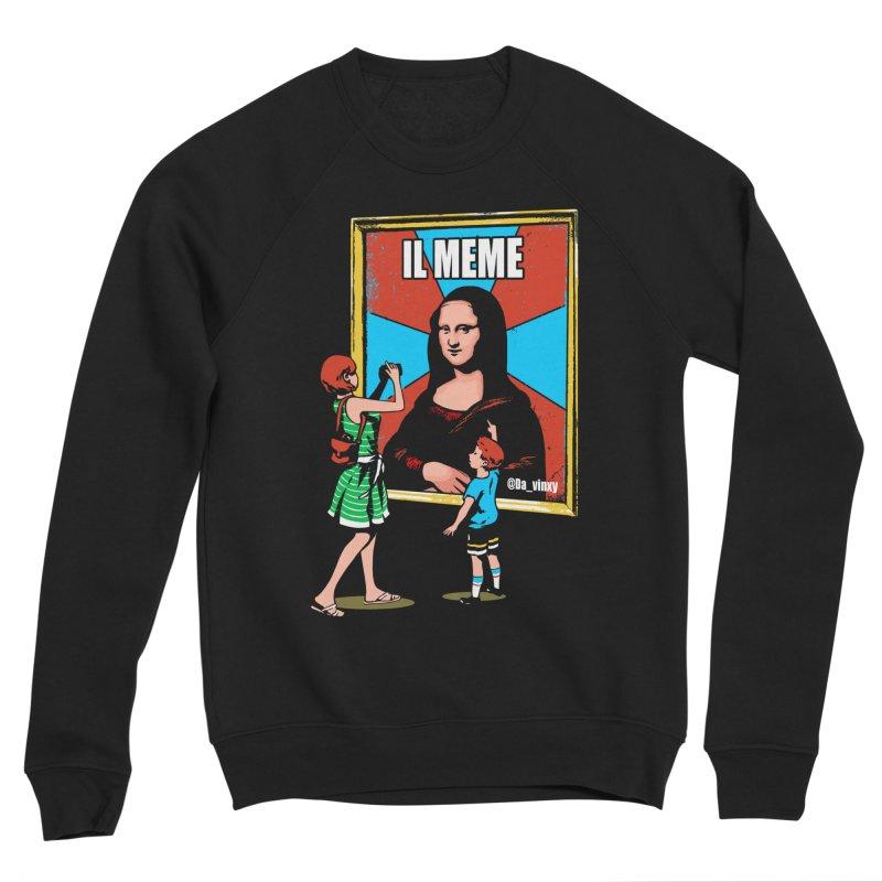 Il Meme Women's Sweatshirt by Santiago Sarquis's Artist Shop
