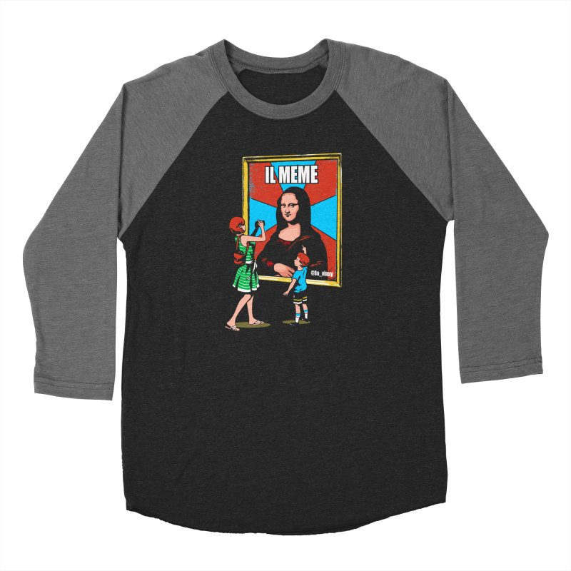 Il Meme Men's Baseball Triblend Longsleeve T-Shirt by Santiago Sarquis's Artist Shop