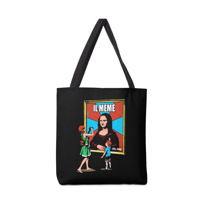 Il Meme Accessories Tote Bag Bag by Santiago Sarquis's Artist Shop