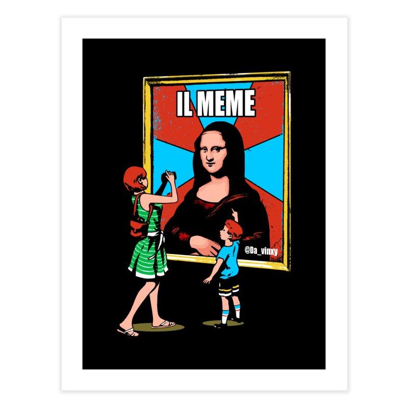 Il Meme Home Fine Art Print by Santiago Sarquis's Artist Shop