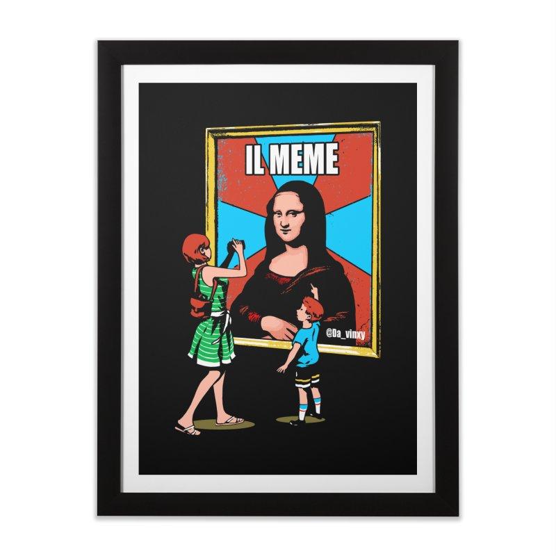 Il Meme Home Framed Fine Art Print by Santiago Sarquis's Artist Shop