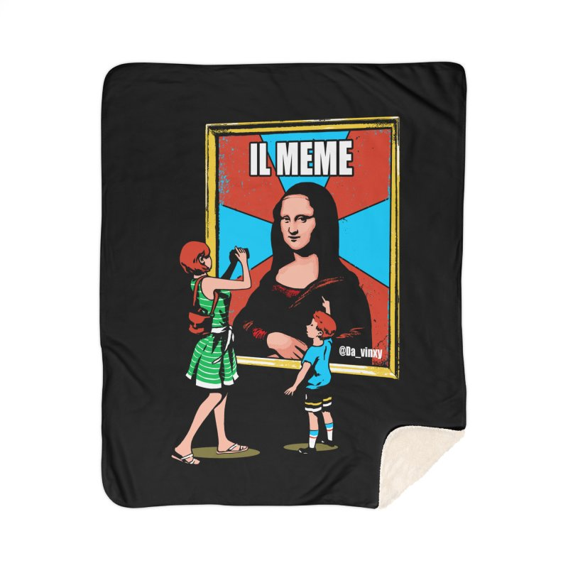 Il Meme Home Blanket by Santiago Sarquis's Artist Shop