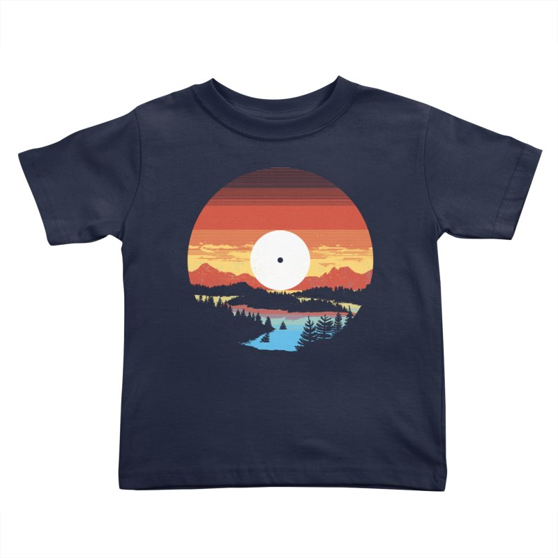 1973 Kids Toddler T-Shirt by Santiago Sarquis's Artist Shop