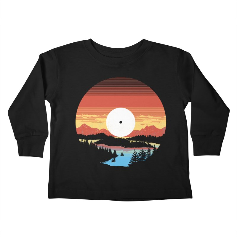 1973 Kids Toddler Longsleeve T-Shirt by Santiago Sarquis's Artist Shop
