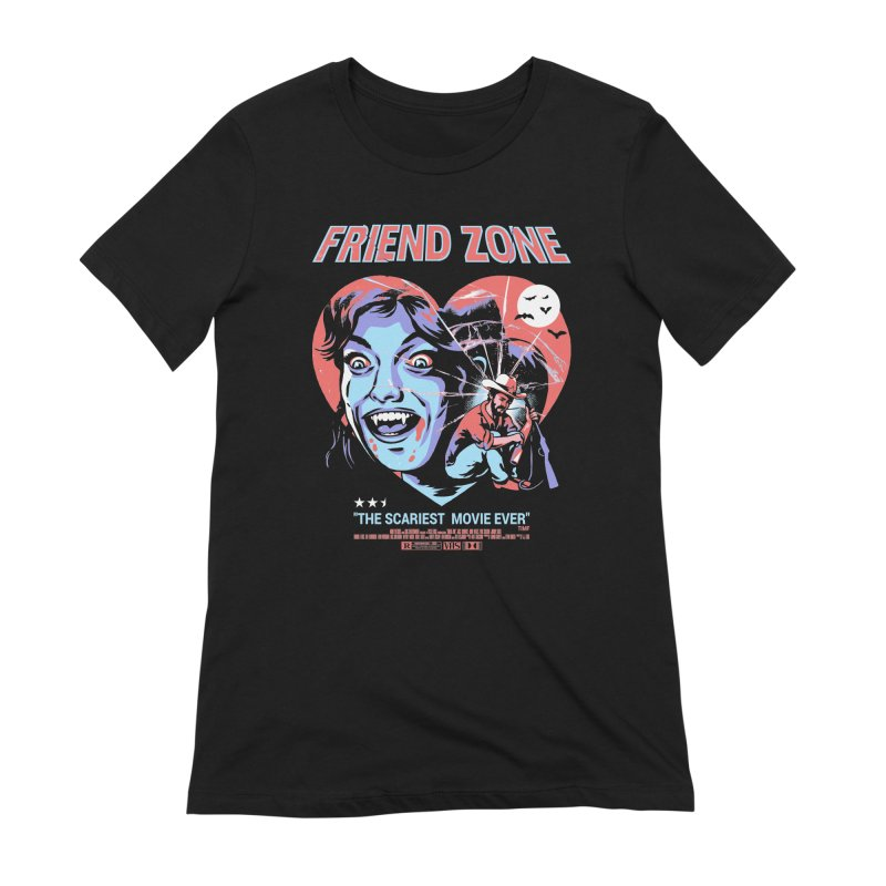 Friend Zone Women's Extra Soft T-Shirt by Santiago Sarquis's Artist Shop