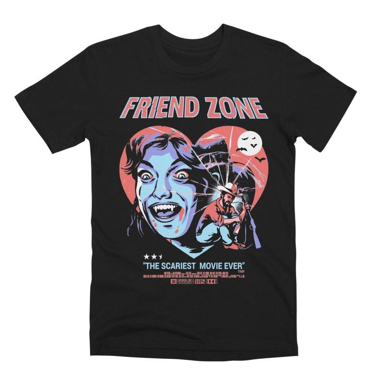 Friend Zone Men's Premium T-Shirt by Santiago Sarquis's Artist Shop