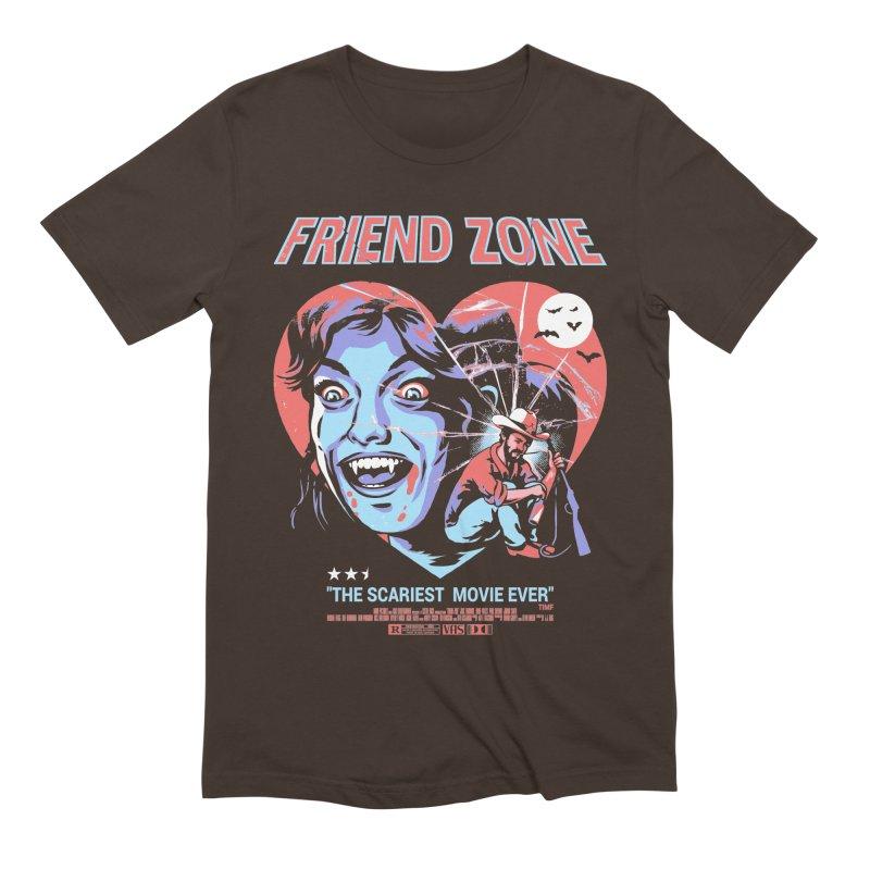 Friend Zone Men's Extra Soft T-Shirt by Santiago Sarquis's Artist Shop