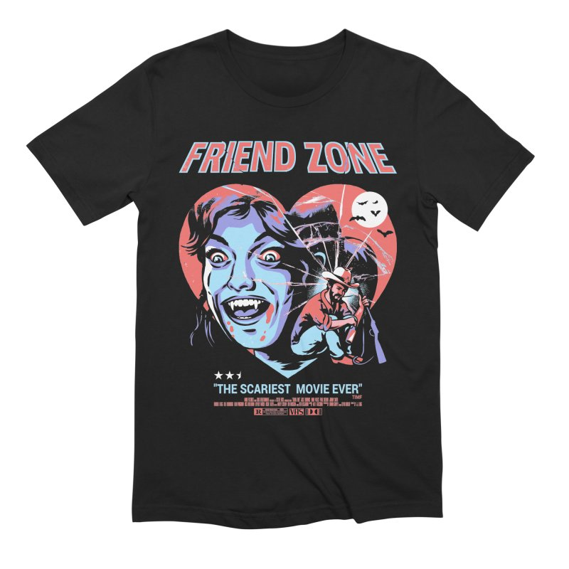 Friend Zone Men's Extra Soft T-Shirt by Santiago Sarquis's Artist Shop