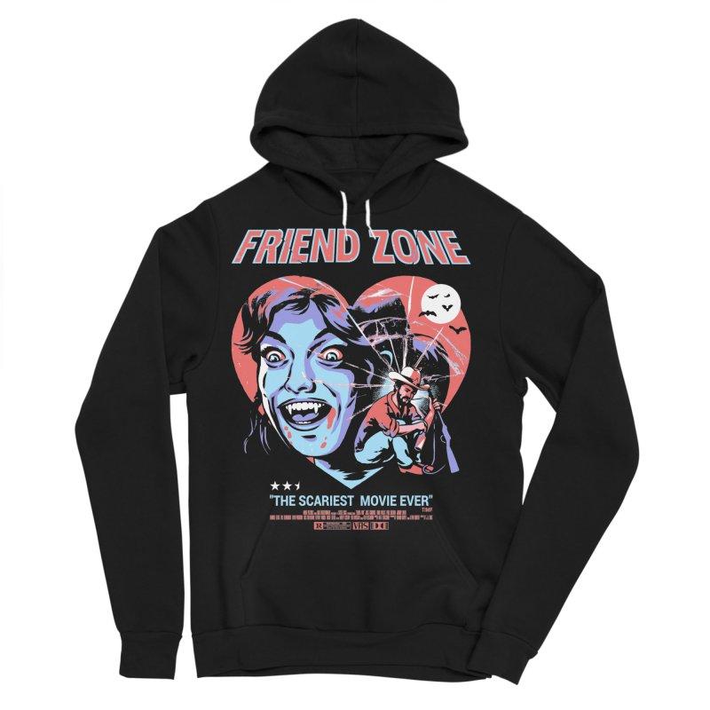 Friend Zone Men's Sponge Fleece Pullover Hoody by Santiago Sarquis's Artist Shop