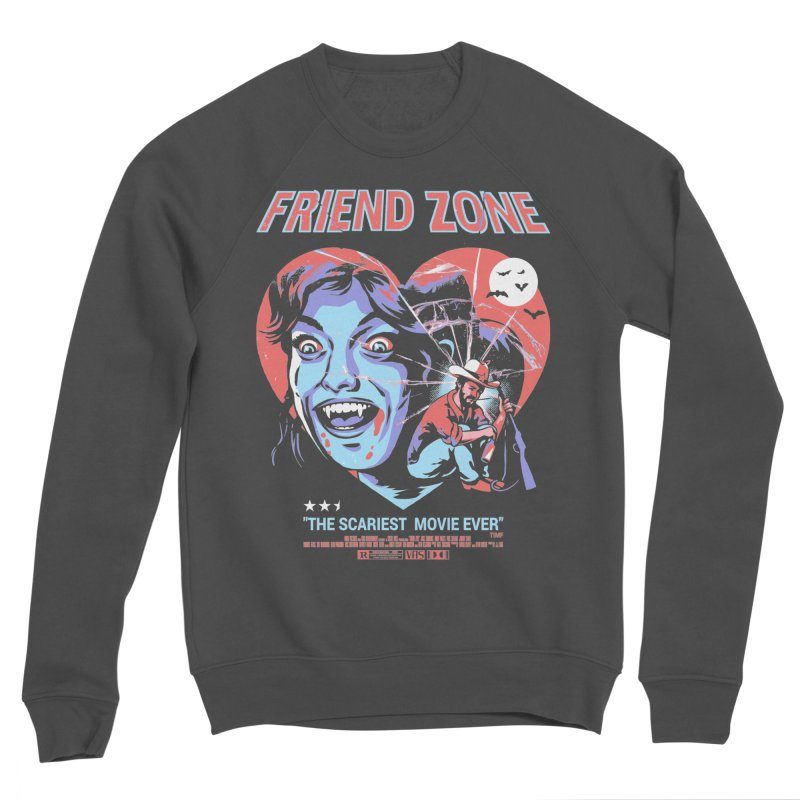 Friend Zone Men's Sponge Fleece Sweatshirt by Santiago Sarquis's Artist Shop