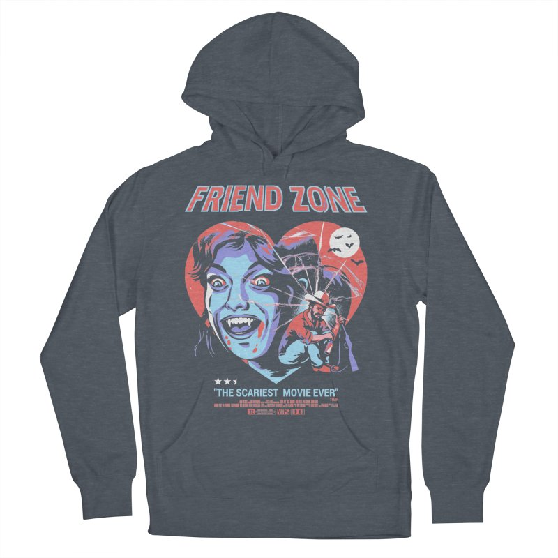 Friend Zone Women's French Terry Pullover Hoody by Santiago Sarquis's Artist Shop