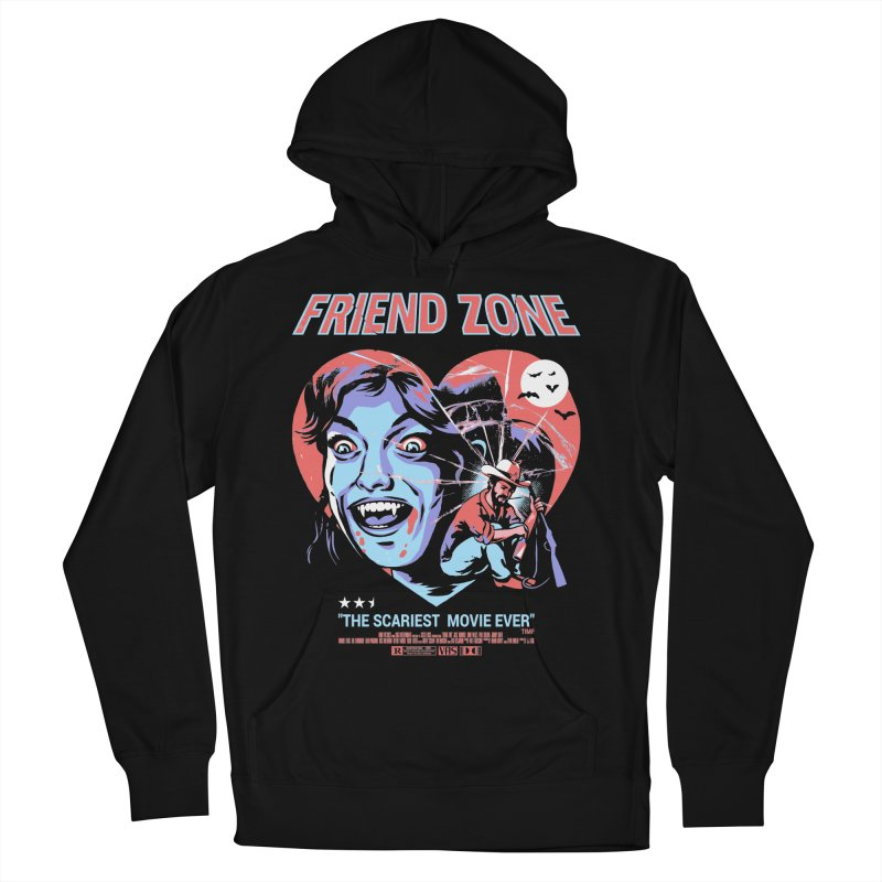 Friend Zone Men's French Terry Pullover Hoody by Santiago Sarquis's Artist Shop