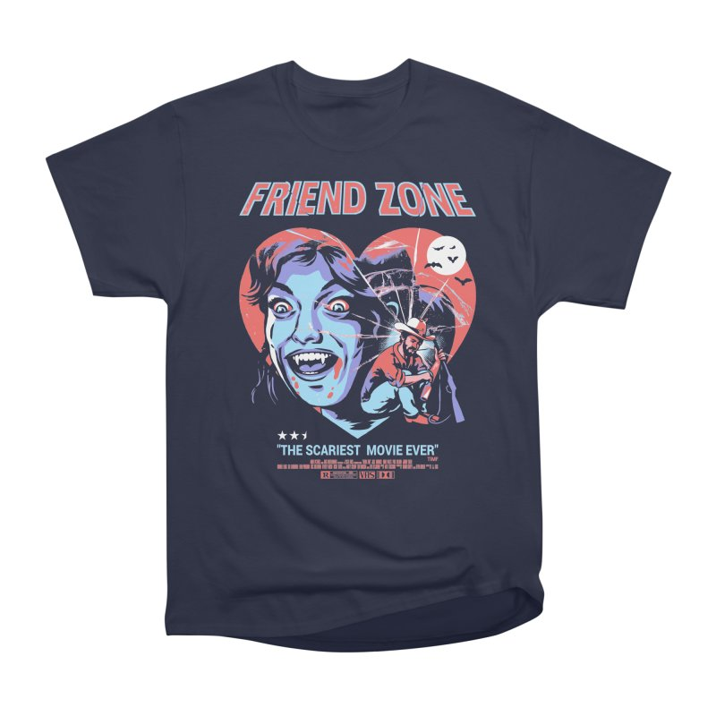Friend Zone Men's Heavyweight T-Shirt by Santiago Sarquis's Artist Shop