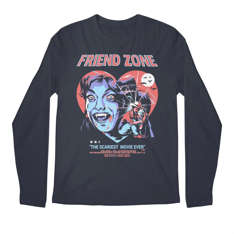 Friend Zone Men's Regular Longsleeve T-Shirt by Santiago Sarquis's Artist Shop