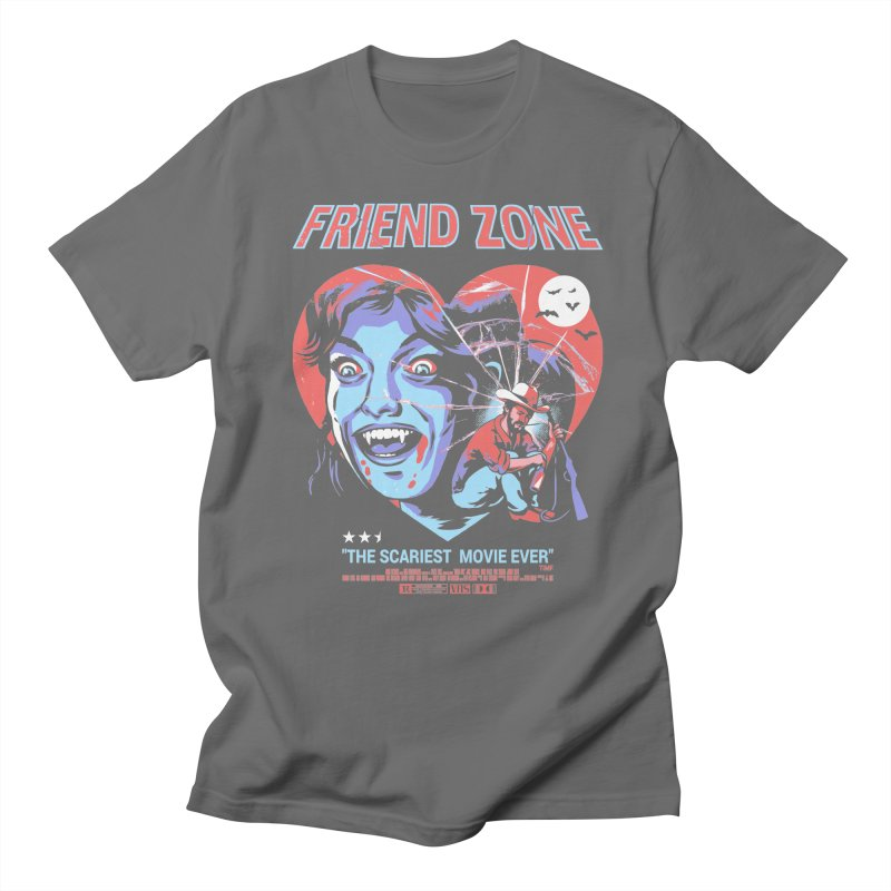Friend Zone Women's Regular Unisex T-Shirt by Santiago Sarquis's Artist Shop