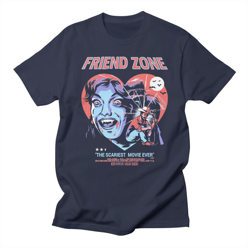 Friend Zone Women's Regular Unisex T-Shirt by Santiago Sarquis's Artist Shop