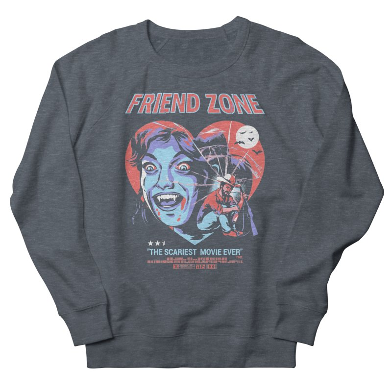 Friend Zone Women's French Terry Sweatshirt by Santiago Sarquis's Artist Shop