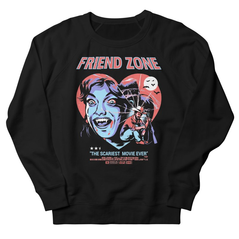 Friend Zone Men's French Terry Sweatshirt by Santiago Sarquis's Artist Shop