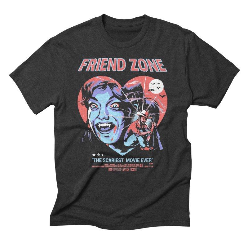 Friend Zone Men's Triblend T-Shirt by Santiago Sarquis's Artist Shop