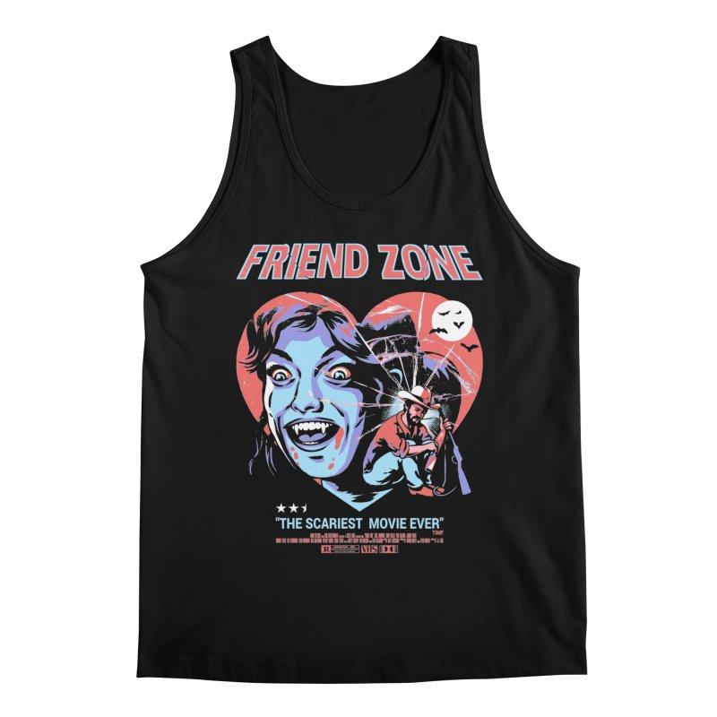 Friend Zone Men's Regular Tank by Santiago Sarquis's Artist Shop