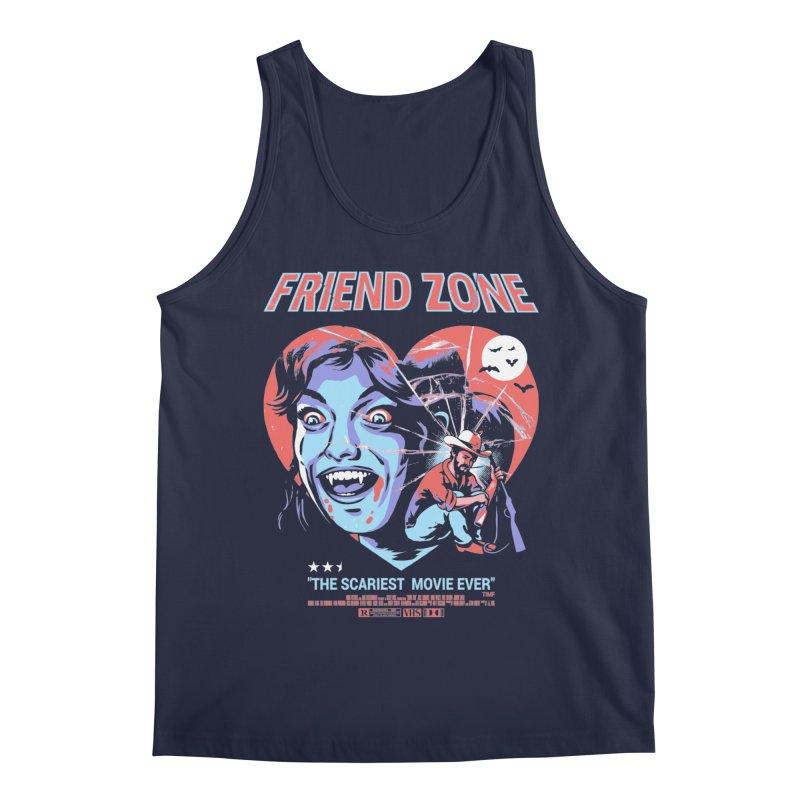Friend Zone Men's Tank by Santiago Sarquis's Artist Shop
