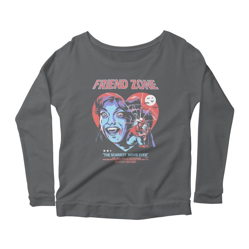 Friend Zone Women's Longsleeve T-Shirt by Santiago Sarquis's Artist Shop
