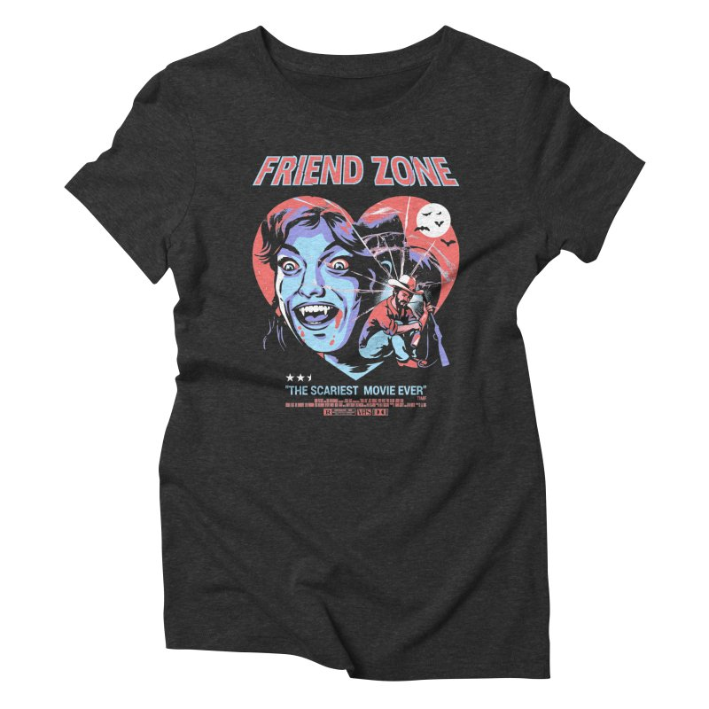 Friend Zone Women's Triblend T-Shirt by Santiago Sarquis's Artist Shop