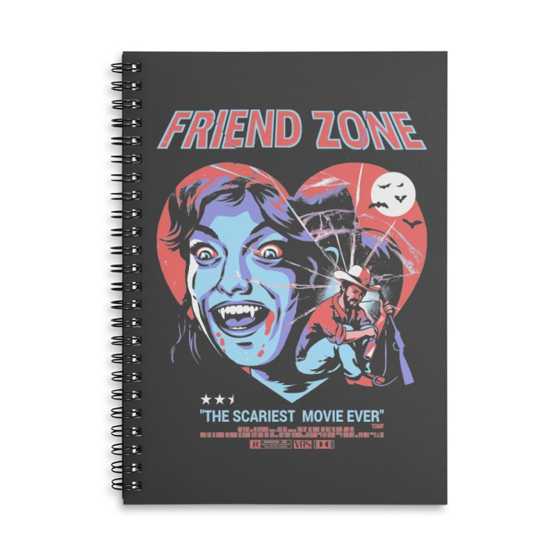 Friend Zone Accessories Notebook by Santiago Sarquis's Artist Shop