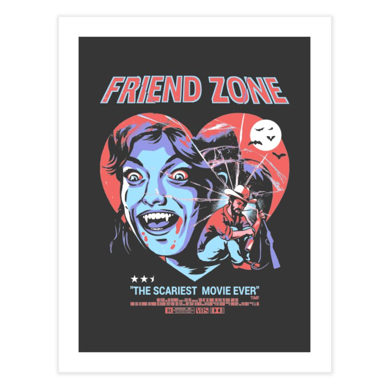 Friend Zone Home Fine Art Print by Santiago Sarquis's Artist Shop