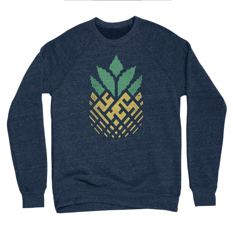 Pineapple Maze Men's Sponge Fleece Sweatshirt by Santiago Sarquis's Artist Shop
