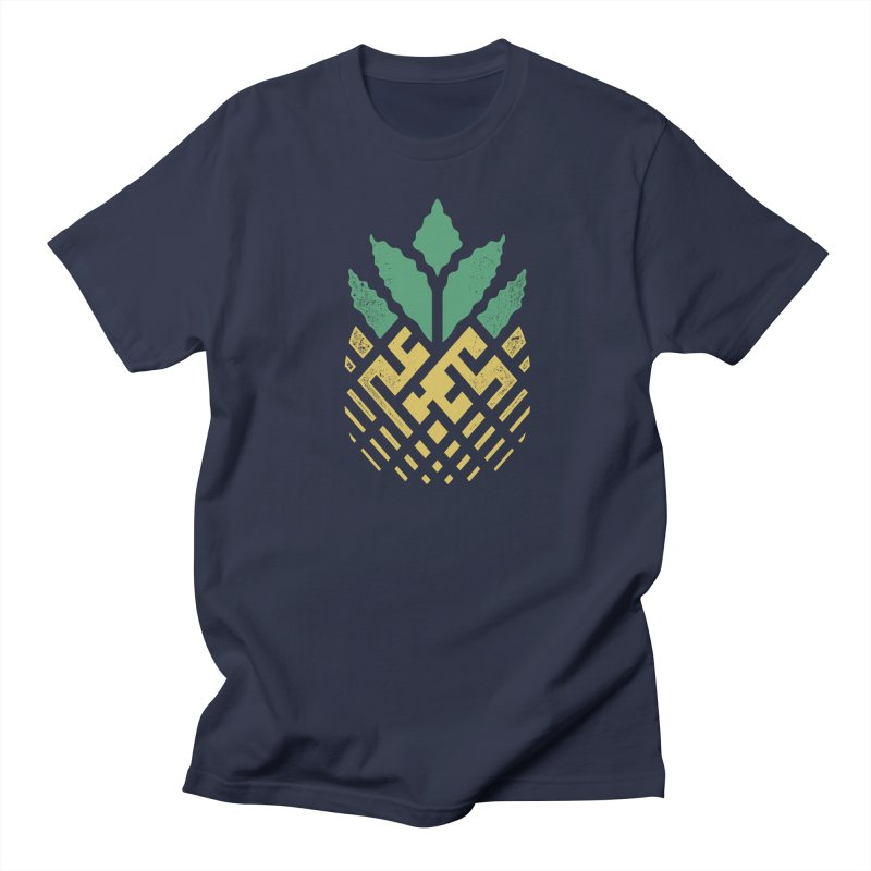 Pineapple Maze Women's Regular Unisex T-Shirt by Santiago Sarquis's Artist Shop
