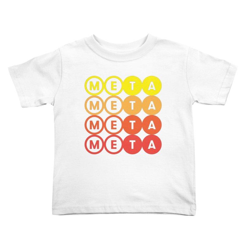 Meta Logo Stacked Color - Toddler T Kids Toddler T-Shirt by Meta NYC's Shop