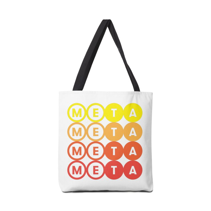 Meta Stacked Tote Bag Accessories Bag by Meta NYC's Shop