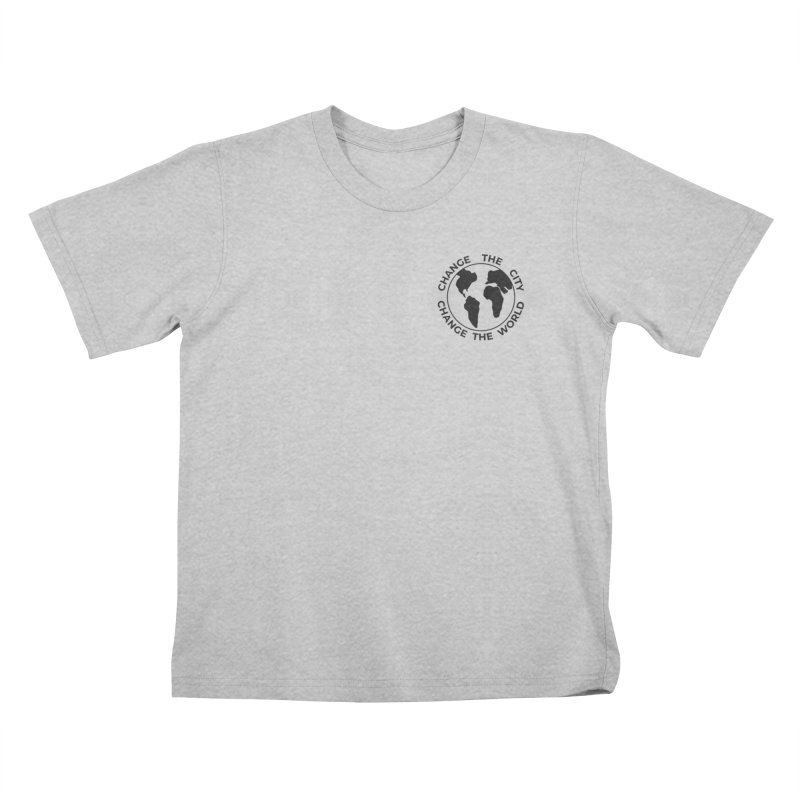 Change The City, Change The World Kids T-Shirt by Meta NYC's Shop