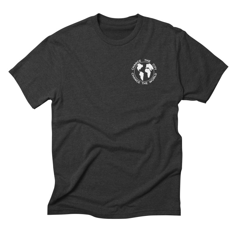 Change the City, Change the World Men's T-Shirt by Meta NYC's Shop