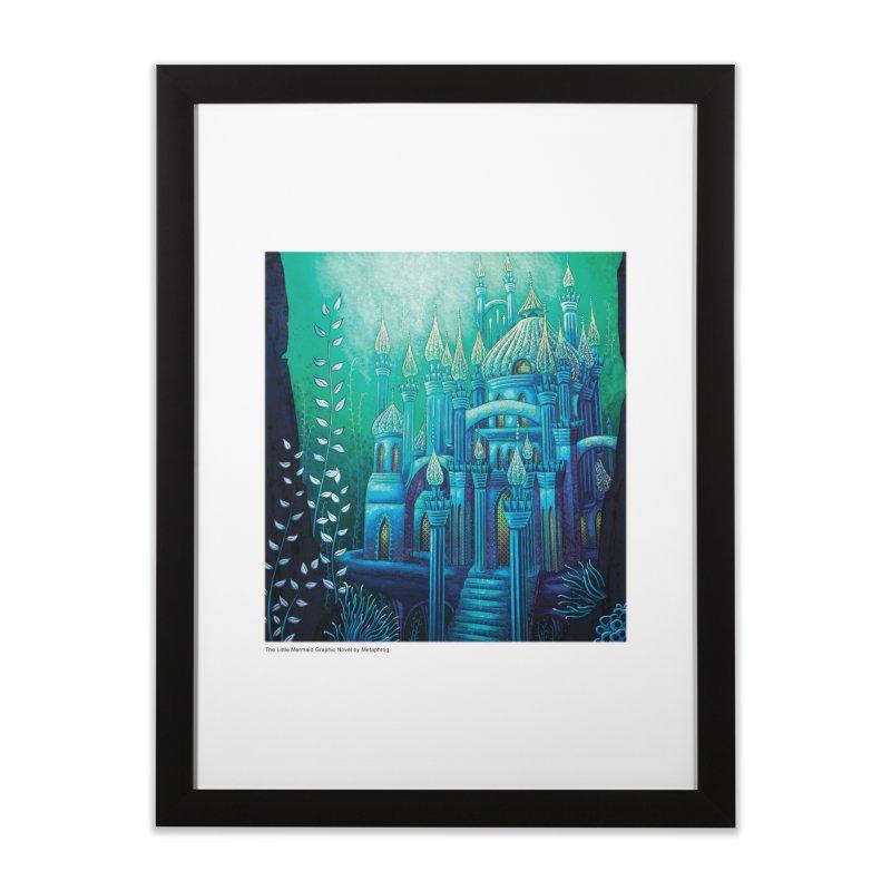 Little Mermaid Palace Fine Art Prints Home Framed Fine Art Print by The Metaphrog Artist Shop