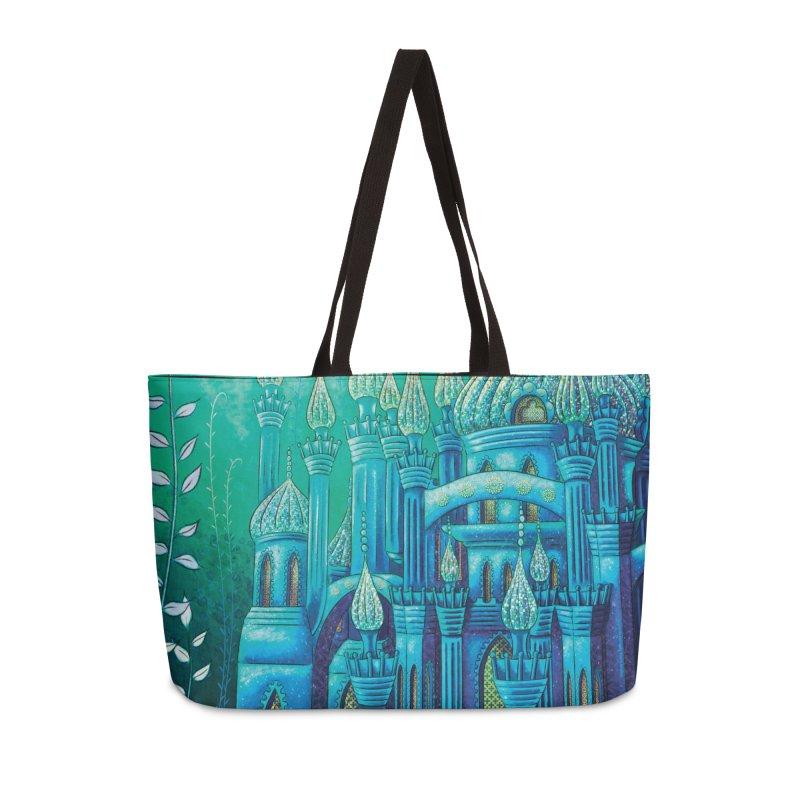 Little Mermaid Palace Weekender Bag Accessories Bag by The Metaphrog Artist Shop