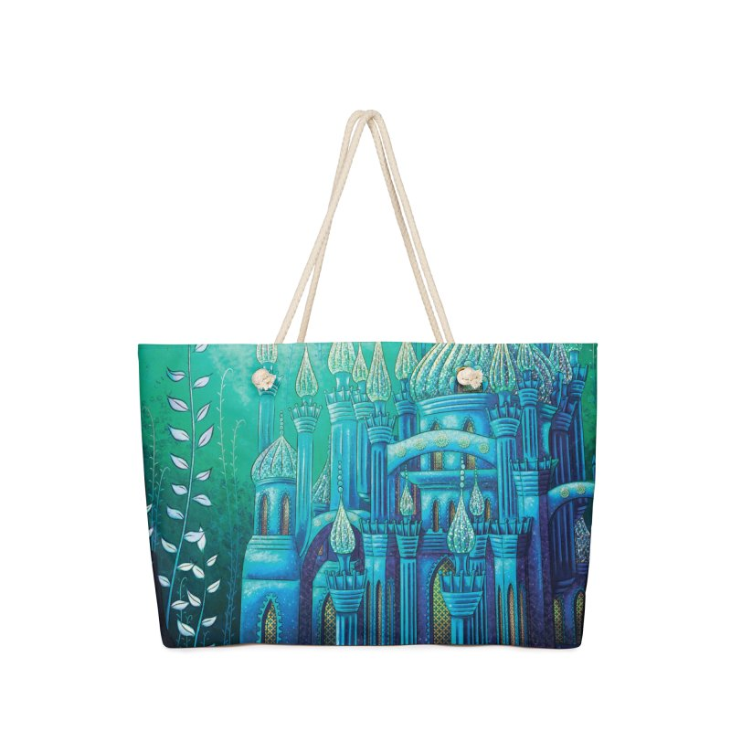 Little Mermaid Palace Weekender Bag Accessories Bag by The Metaphrog Artist Shop