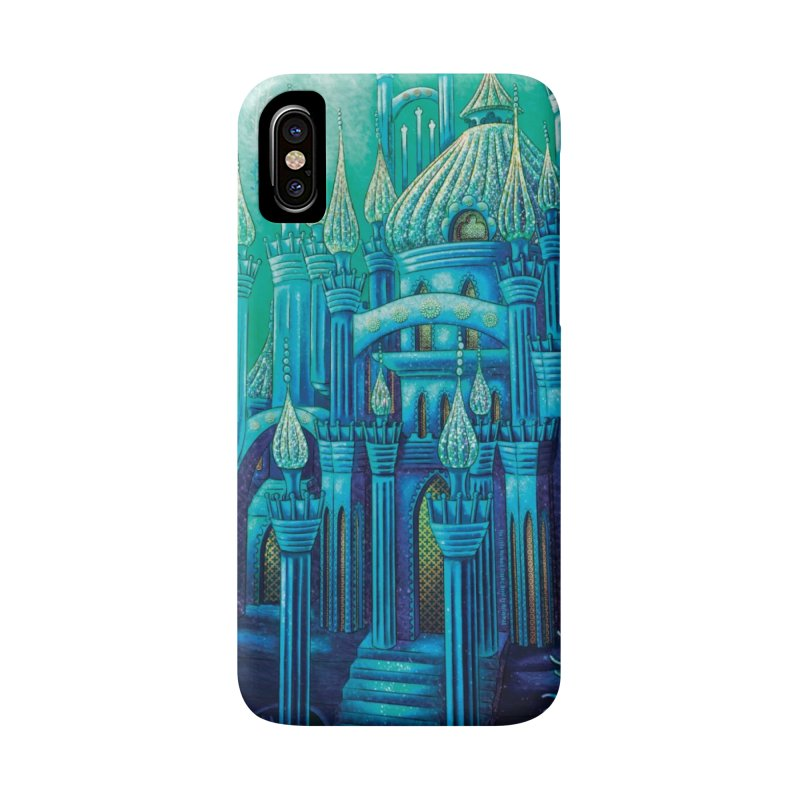 Little Mermaid Palace Phone Case in iPhone X / XS Phone Case Slim by The Metaphrog Artist Shop