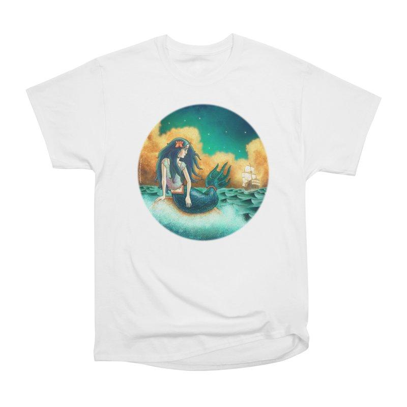 Little Mermaid T-shirt Women's T-Shirt by The Metaphrog Artist Shop