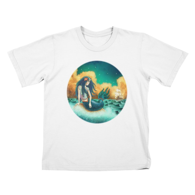 Little Mermaid T-shirt Kids T-Shirt by The Metaphrog Artist Shop