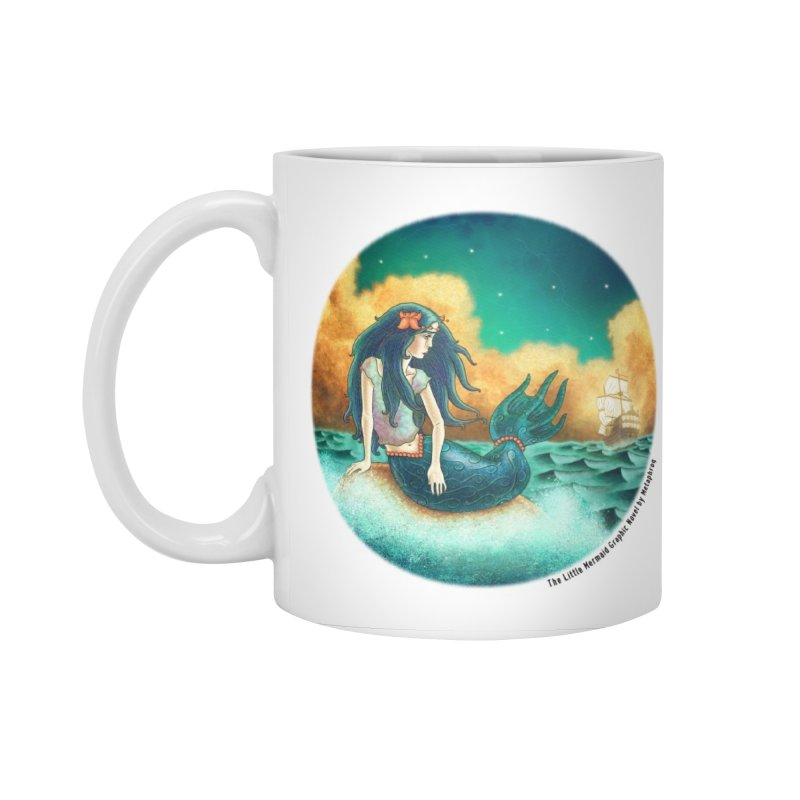 Little Mermaid Mug Accessories Mug by The Metaphrog Artist Shop