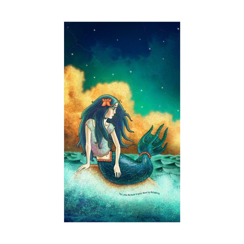Little Mermaid Phone Case by The Metaphrog Artist Shop
