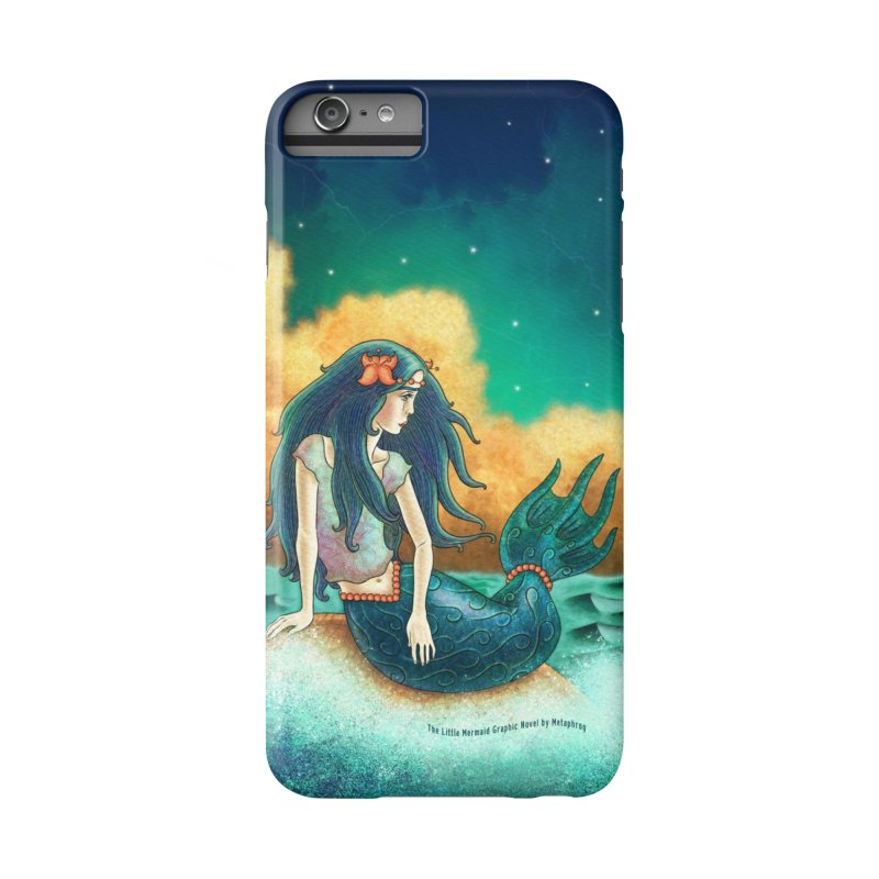 Little Mermaid Phone Case Accessories Phone Case by The Metaphrog Artist Shop